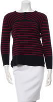 Tory Burch Striped Wool Sweater
