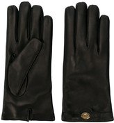Gucci Logo Plaque Gloves