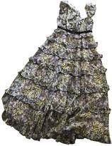 Giambattista Valli X H&M X H&m Purple Silk Dress for Women