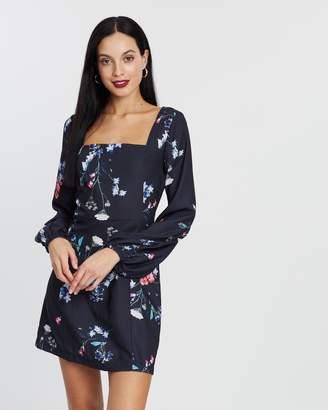 Cooper St Moss Long Sleeve Mini Dress