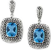 Effy BALISSIMA by Blue Topaz (5 ct. t.w.) Drop Earrings in Sterling Silver