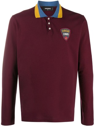 DSQUARED2 Embroidered Logo Polo Shirt