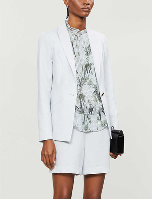 Ted Baker Pelia single-breasted woven blazer