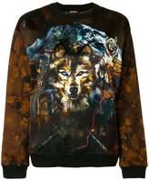 Balmain Wolf printed sweatshirt