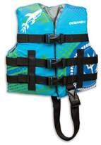 Aqua Leisure AquaLeisure® Oceans 7 Youth Personal Flotation Device in Aqua
