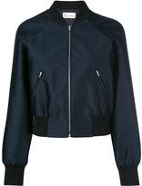 RED Valentino classic bomber jacket - women - Silk/Polyamide/Polyester/Viscose - 40