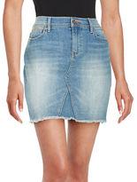 Dittos Light Wash Denim Skirt