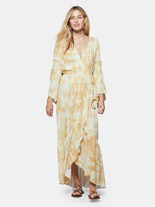 Band of Gypsies Zion Faux Wrap Maxi Dress
