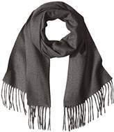 Sofia Cashmere Women's 100 Percent Cashmere Woven Scarf with Fringe