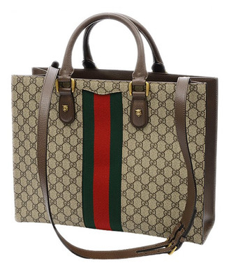 Gucci Animalier Brown Cloth Handbags