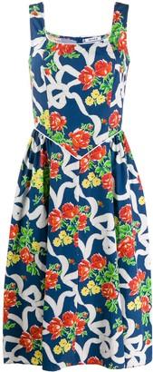 Batsheva floral day dress