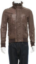 Dolce & Gabbana Leather Flight Jacket
