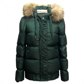 Juicy Couture Green Coat for Women Vintage