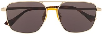 Gucci GG0743S aviator-frame sunglasses
