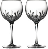 Waterford Lismore Essence Balloon Wine Glasses - Set of 2