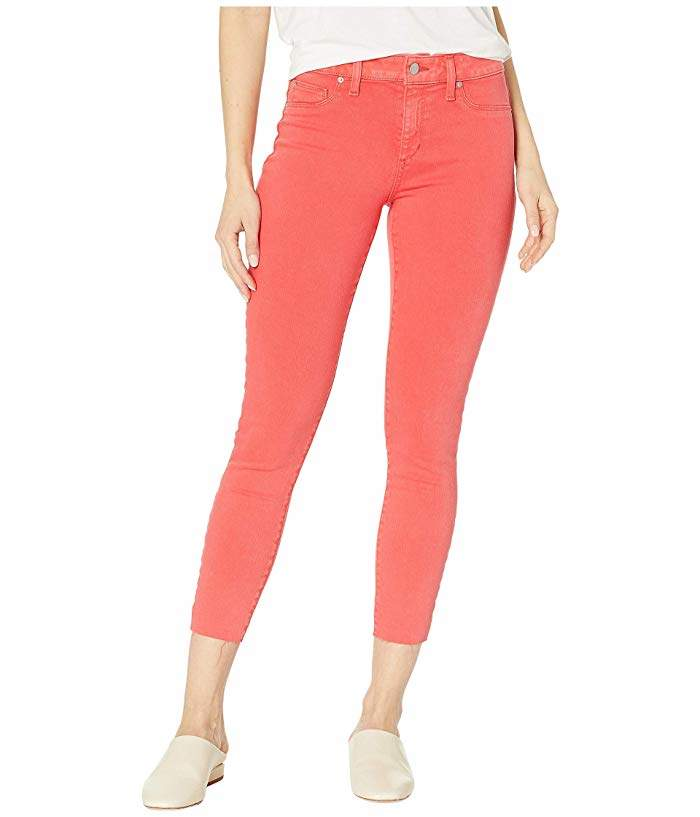 Joe's Jeans Icon Cut Crop in Hibiscus