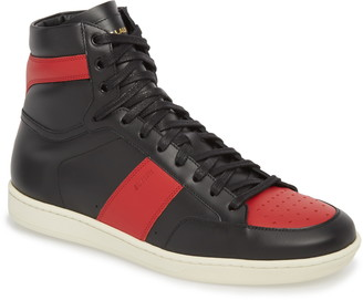 Saint Laurent SL/10H Signature Court Classic High Top Sneaker