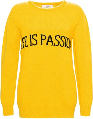 Alberta Ferretti Life Is Passion Knit Sweater