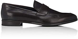 Prada Men's Leather Penny Loafers - Brown