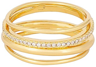 Uncommon James by Kristin Cavallari Be Know Cubic Zirconia Stack Ring