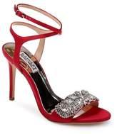 Badgley Mischka Hailey Embellished Ankle Strap Sandal