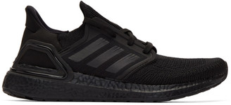 adidas Black UltraBoost 20 Sneakers