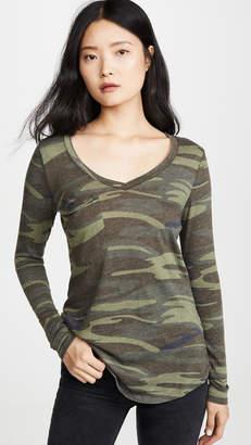 Z Supply Camo Long Sleeve Tee