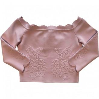 Alexander McQueen Pink Viscose Tops