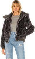 Generation Love Heidi Faux Fur Bomber