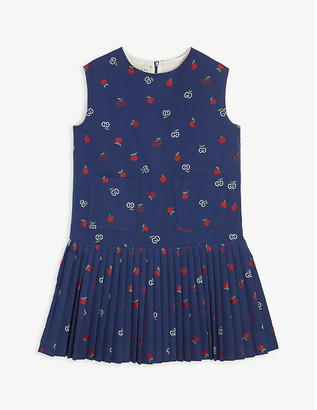 Gucci Apple GG cotton dress 6-12 years
