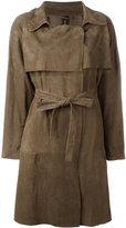 Giorgio Brato belted trench coat