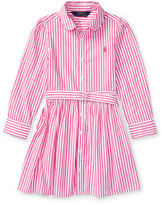 Ralph Lauren 2-6X Striped Cotton Shirtdress