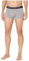 HUGO BOSS Identity Cotton Modal Trunks (Light Grey Melange) Men's Underwear