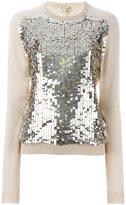 Emilio Pucci sequin embellished jumper - women - Silk/Polyamide/Cashmere/Sequin - M
