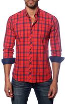 Jared Lang Long Sleeve Checked Shirt