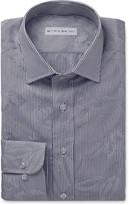 Etro - Blue Floral-jacquard Cotton Shirt