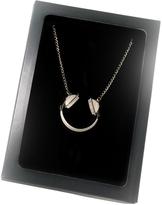Design Glut Headphones Necklace Gray