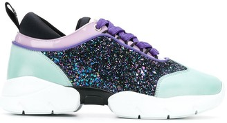 Emilio Pucci lace-up City sneakers