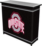 Trademark 2-Shelf 39 in. L x 36 in. H The Ohio State University Portable Bar with Case
