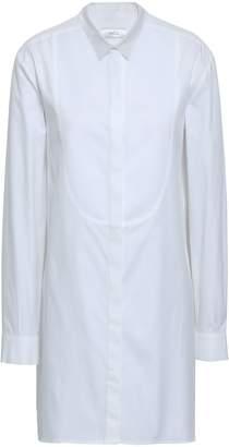 Racil Pique-paneled Cotton Oxford Shirt