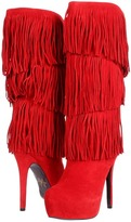 Mojo Moxy Burlesque (Red) - Footwear