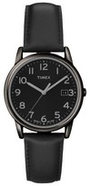 Timex Men's Watch with Leather Strap - Black T2N947JT