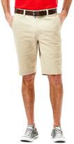 Haggar Heritage Poplin Short, Slim Fit, Flat Front