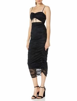 For Love & Lemons Women's Poison Ruched Dress