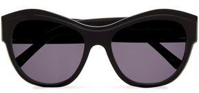 Cat Eye Andy Wolf Virginia Tortoiseshell Acetate Sunglasses