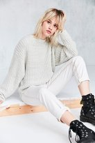BDG Ashley Waffle Stitch Crew Neck Sweater