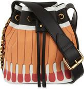 Moschino Matchstick bucket bag