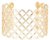Natasha Accessories Lattice Cuff Bracelet