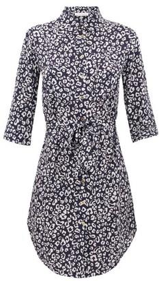 Heidi Klein Tanzania Leopard-print Shirt Dress - Leopard