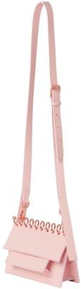 Atribut Small Crossbody Leather Bag - Whisper - Rosa